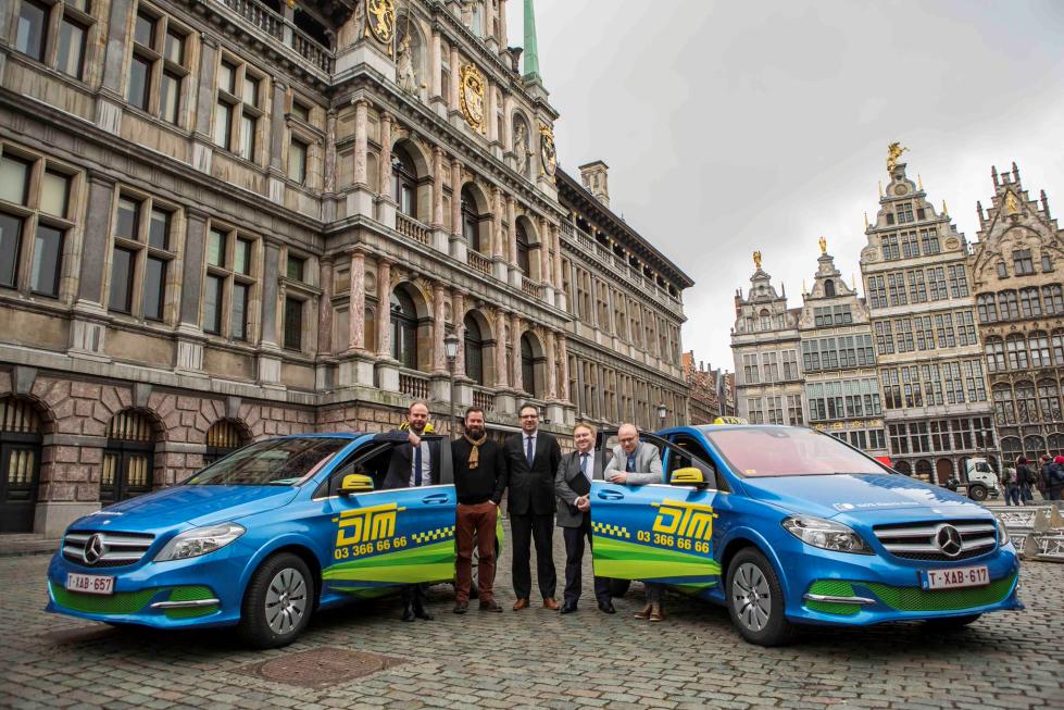 E-Taxi's Vlaanderen
