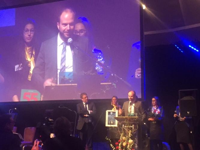 DTM Taxi wint een award op de Nacht van de KMO's